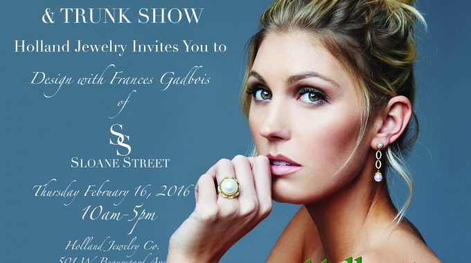 Sloan Street Holland Trunk Show 2017